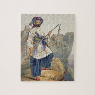 Ko-i-Staun Foot Soldiery in Summer Costume, Active Puzzle