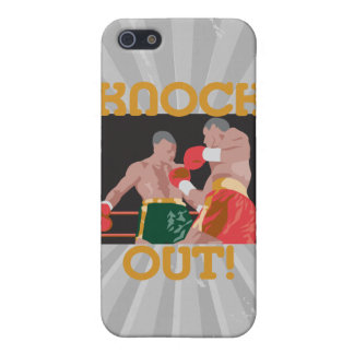 KO knock out boxing vector design Case For iPhone SE/5/5s