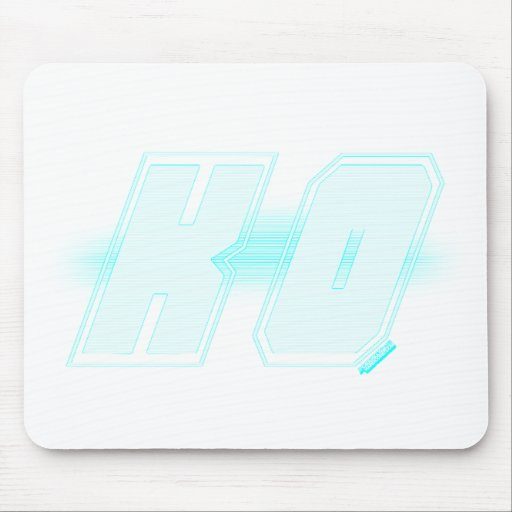 KO - Knock out gamer gaming win street fighter Mouse Pad