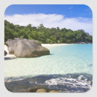 Ko Miang Island, Simil Islands on Andam Sea, Square Sticker