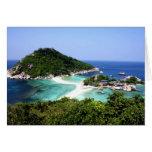 Ko Nang Yuan Island in Thailand Card