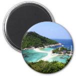 Ko Nang Yuan Island in Thailand Magnets