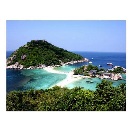 Ko Nang Yuan Island in Thailand Post Cards