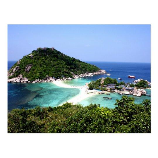 Ko Nang Yuan Island in Thailand Postcard