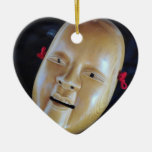 Ko-Omote Onna-men Noh Mask Theatre Drama Ornaments