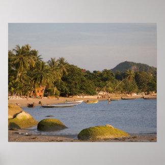 Ko Phangan, Thailand. Outside the hectic island Poster