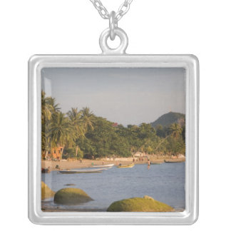 Ko Phangan, Thailand. Outside the hectic island Silver Plated Necklace