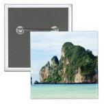 Ko Phi Phi Island on Andaman Sea, Krabi Pinback Buttons