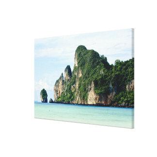 Ko Phi Phi Island on Andaman Sea, Krabi Canvas Print