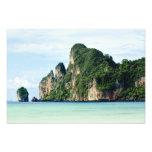 Ko Phi Phi Island on Andaman Sea, Krabi Photo Print