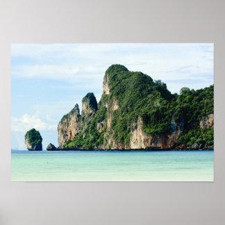Ko Phi Phi Island on Andaman Sea, Krabi Posters