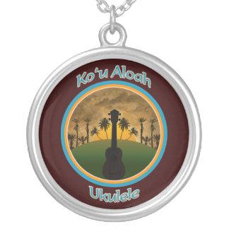 Ko`u Aloah Ukulele Necklace