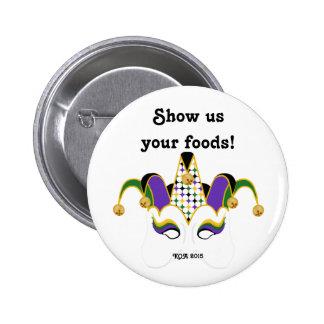 "KOA 2015 Button - ""Show Us Your Foods!"""