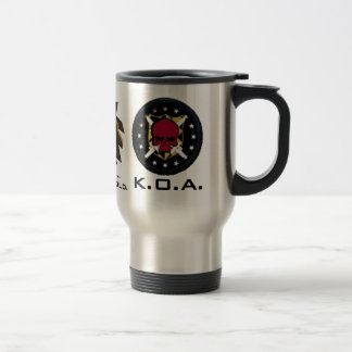 KOA bleeding Gold Travel Mug
