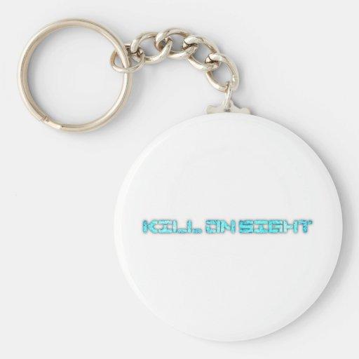 KoA Store Basic Round Button Keychain