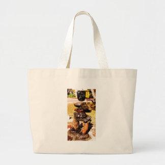 koa subjects 003 large tote bag
