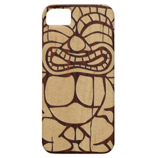 Koa Wood Tiki Ailani Surfboard iPhone 5 Cases