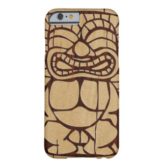 Koa Wood Tiki Ailani Surfboard iPhone 6 case