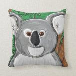 Koala almohada cuadrada 16 x 16