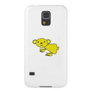 Koala amarilla linda fundas para galaxy s5