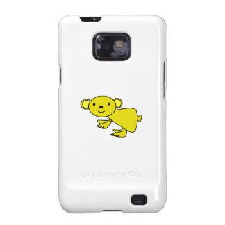 Koala amarilla linda galaxy s2 funda