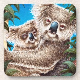 Koala and Baby Cork Coaster