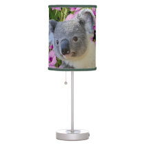 Koala and Orchids Desk Lamp