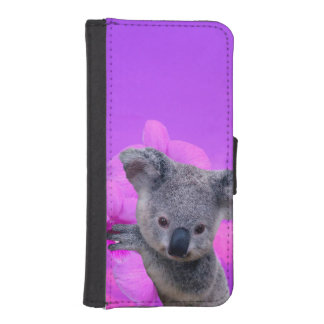 Koala and Orchids iPhone SE/5/5s Wallet