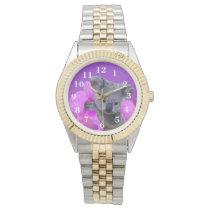 Koala and Orchids Wristwatch