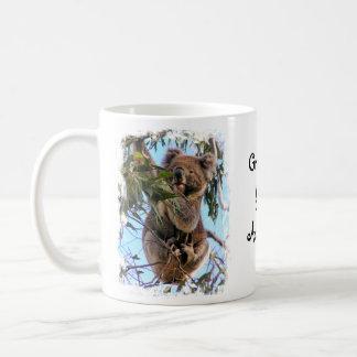 Koala Australia Classic White Coffee Mug