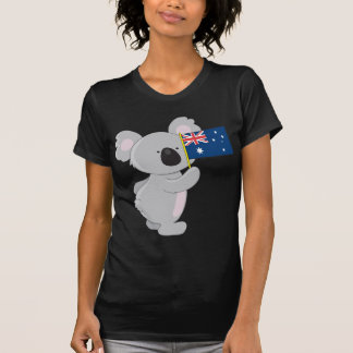 Koala Australian Flag T Shirts