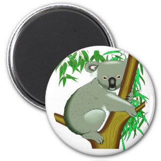 Koala - Australian Tree Living Marsupial 2 Inch Round Magnet