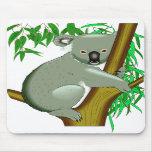 Koala - Australian Tree Living Marsupial Mouse Pads
