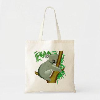 Koala - Australian Tree Living Marsupial Tote Bag