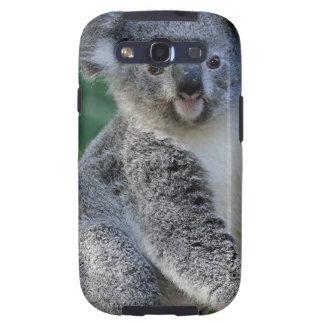 Koala australiana mimosa linda samsung galaxy s3 funda