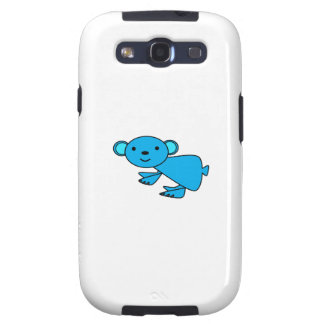 Koala azul linda galaxy SIII carcasa