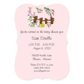 Koala Baby Shower Invitations
