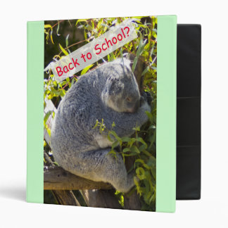 Koala Back to School Binder