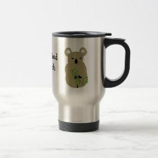 Koala Bear 15 Oz Stainless Steel Travel Mug
