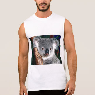 Koala Bear Australia Outback Country Animal Cute Sleeveless Shirt