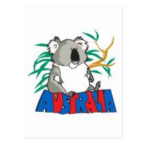 Koala Bear Australia Postcard