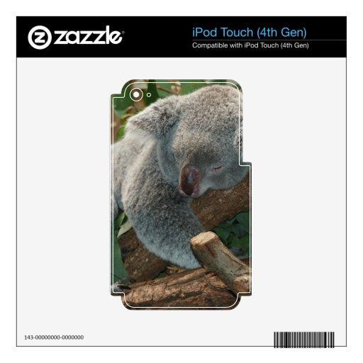 Koala Bear Australia Teddy Sleep iPod Touch 4G Skin