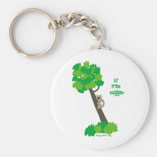 Koala Bear Basic Round Button Keychain