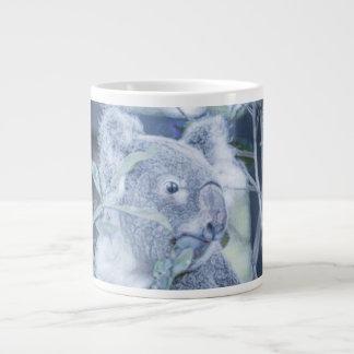koala bear blue swirly painting jpg jumbo mugs