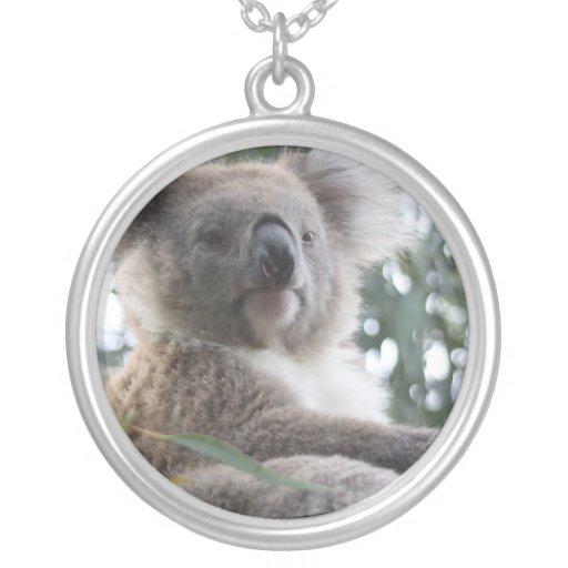 Koala Bear Facts Necklace