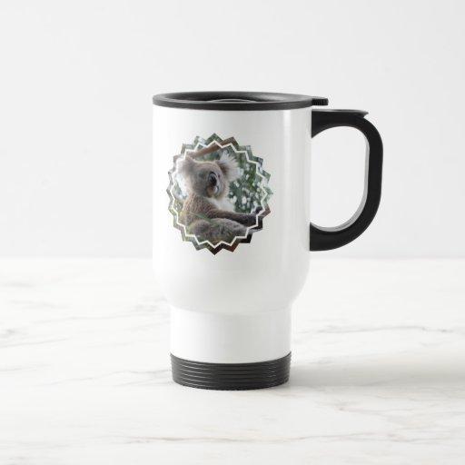Koala Bear Facts Travel Mug