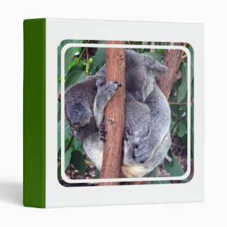 Koala Bear Family Binder