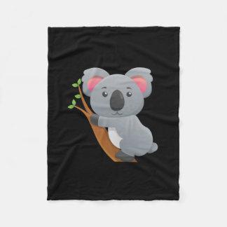 Koala Bear Fleece Blanket