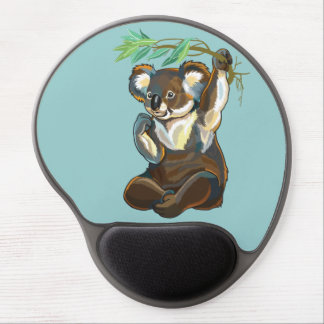 koala bear gel mouse pad
