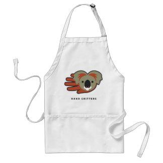 Koala Bear Hand Adult Apron